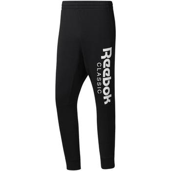 Textil Muži Teplákové kalhoty Reebok Sport DH2089 Černá