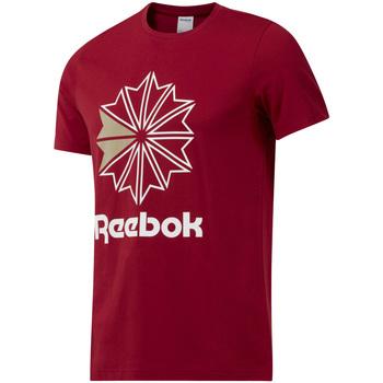 Textil Muži Trička s krátkým rukávem Reebok Sport DH2096 Červené