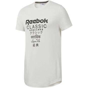 Textil Muži Trička s krátkým rukávem Reebok Sport DJ1893 Bílý