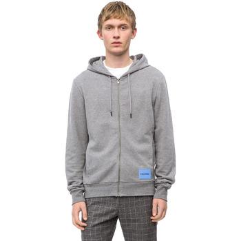 Textil Muži Mikiny Calvin Klein Jeans K10K102711 Šedá