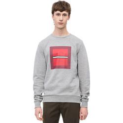 Textil Muži Mikiny Calvin Klein Jeans K10K102722 Šedá