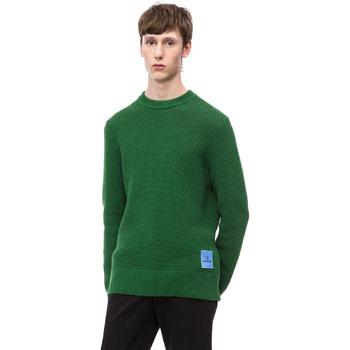 Textil Muži Svetry Calvin Klein Jeans K10K102731 Zelený