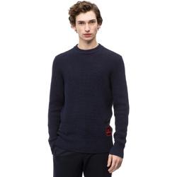 Textil Muži Svetry Calvin Klein Jeans K10K102731 Modrý