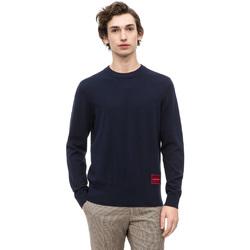 Textil Muži Svetry Calvin Klein Jeans K10K102739 Modrý