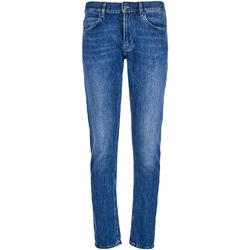 Textil Muži Rifle slim Calvin Klein Jeans K10K102940 Modrý