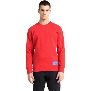 Textil Muži Mikiny Calvin Klein Jeans J30J307743 Červené