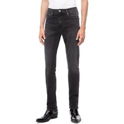Textil Muži Rifle slim Calvin Klein Jeans J30J308317 Černá