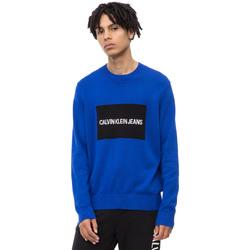 Textil Muži Svetry Calvin Klein Jeans J30J309542 Modrý