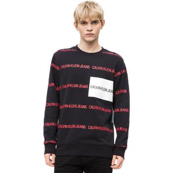 Textil Muži Svetry Calvin Klein Jeans J30J309796 Černá