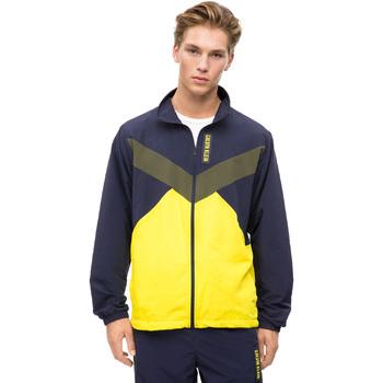 Textil Muži Teplákové bundy Calvin Klein Jeans 00GMF8O518 Modrý