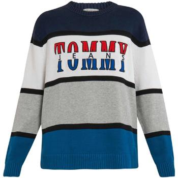 Textil Muži Svetry Tommy Hilfiger DM0DM04471 Modrý