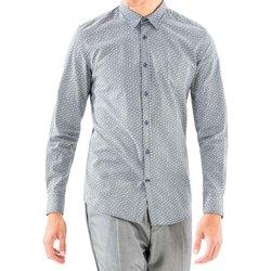 Textil Muži Košile s dlouhymi rukávy Antony Morato MMSL00501 FA430345 Modrý