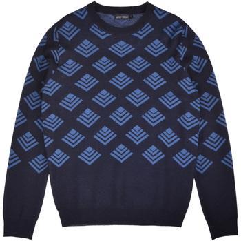 Textil Muži Svetry Antony Morato MMSW00859 YA400006 Modrý