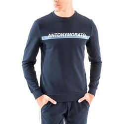 Textil Muži Mikiny Antony Morato MMFL00454 FA150048 Modrý