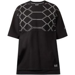 Textil Muži Trička s krátkým rukávem Emporio Armani EA7 6ZPT43 PJQ0Z Černá