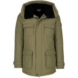 Textil Muži Parky Ea7 Emporio Armani 6ZPK05 PNN5Z Zelený