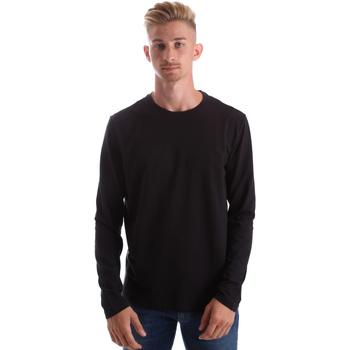 Textil Muži Trička s dlouhými rukávy Gas 300187 Černá