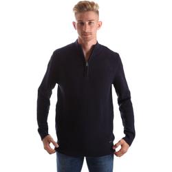 Textil Muži Svetry Gas 561974 Modrý