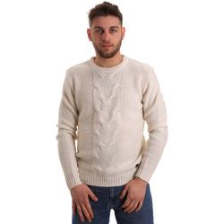 Textil Muži Svetry Gaudi 821BU53042 Bílý