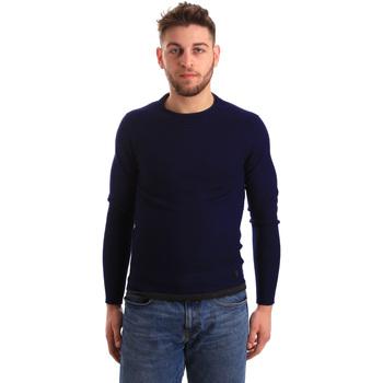 Textil Muži Svetry Gaudi 821BU53043 Modrý