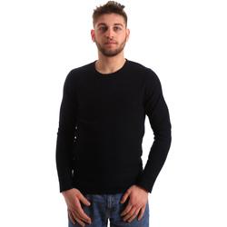 Textil Muži Svetry Gaudi 821FU53016 Modrý