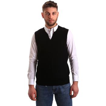 Textil Muži Svetry / Svetry se zapínáním Gaudi 821FU53025 Černá