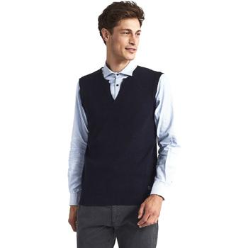 Textil Muži Svetry / Svetry se zapínáním Gaudi 821FU53025 Modrý