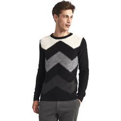 Textil Muži Svetry Gaudi 821FU53085 Černá