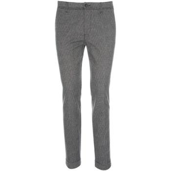 Textil Muži Oblekové kalhoty NeroGiardini A870182U Černá