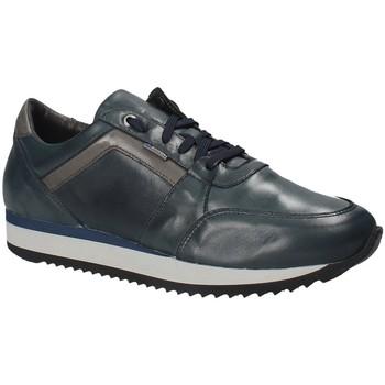 Boty Muži Nízké tenisky Exton 558 Modrý