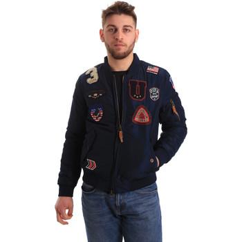Textil Muži Bundy U.S Polo Assn. 50353 52252 Modrý