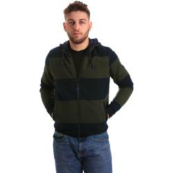 Textil Muži Teplákové bundy U.S Polo Assn. 50448 49151 Modrý