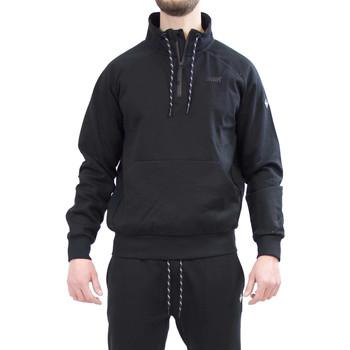 Textil Muži Mikiny Key Up 2VG58 0001 Černá