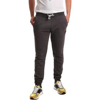 Textil Muži Teplákové kalhoty Key Up 2F37I 0001 Šedá