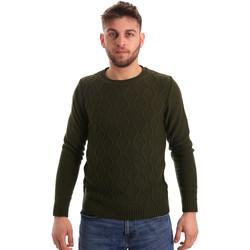 Textil Muži Svetry Bradano 155 Zelený