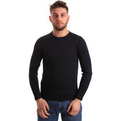Textil Muži Svetry Bradano 163 Modrý