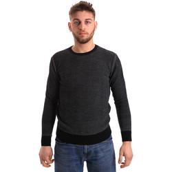 Textil Muži Svetry Bradano 168 Modrý