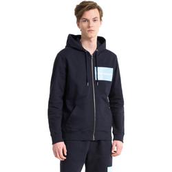 Textil Muži Mikiny Calvin Klein Jeans J30J307760 Modrý