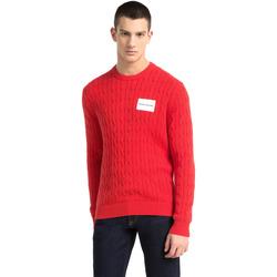 Textil Muži Svetry Calvin Klein Jeans J30J307800 Červené