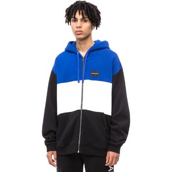 Textil Muži Teplákové bundy Calvin Klein Jeans J30J309516 Černá