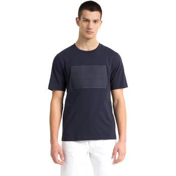 Textil Muži Trička s krátkým rukávem Calvin Klein Jeans J30J307868 Modrý