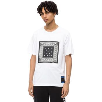 Textil Muži Trička s krátkým rukávem Calvin Klein Jeans J30J309593 Bílý