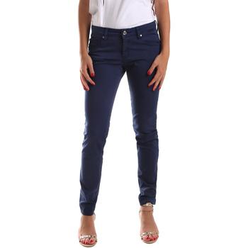 Textil Ženy Kapsáčové kalhoty Gaudi 911BD25010 Modrý