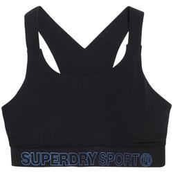 Textil Ženy Sportovní podprsenky Superdry GS3009AR Černá