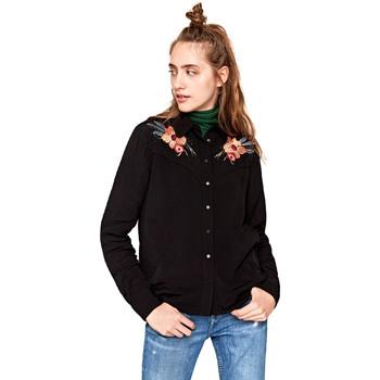 Textil Ženy Košile / Halenky Pepe jeans PL303121 Černá
