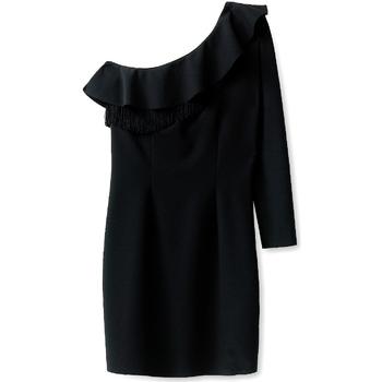 Textil Ženy Krátké šaty Liu Jo F68120J9998 Černá