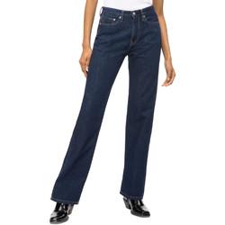 Textil Ženy Rifle rovné Calvin Klein Jeans J20J207612 Modrý