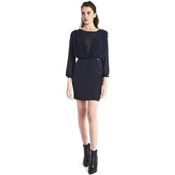 Textil Ženy Krátké šaty Gaudi 821BD15021 Modrý
