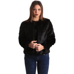 Textil Ženy Bundy Gaudi 821BD39002 Černá