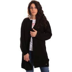 Textil Ženy Svetry / Svetry se zapínáním Gaudi 821BD53024 Černá